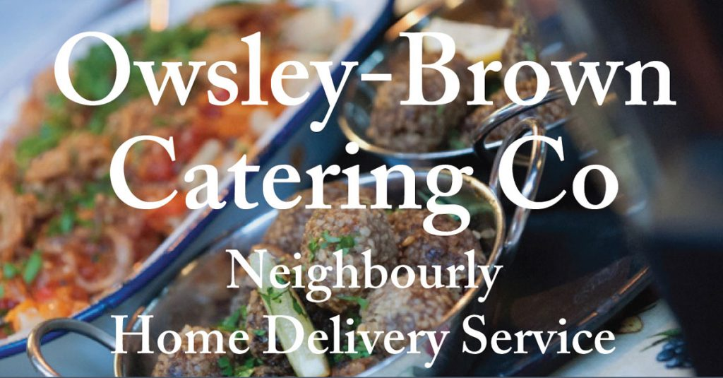 Norfolk home delivery catering